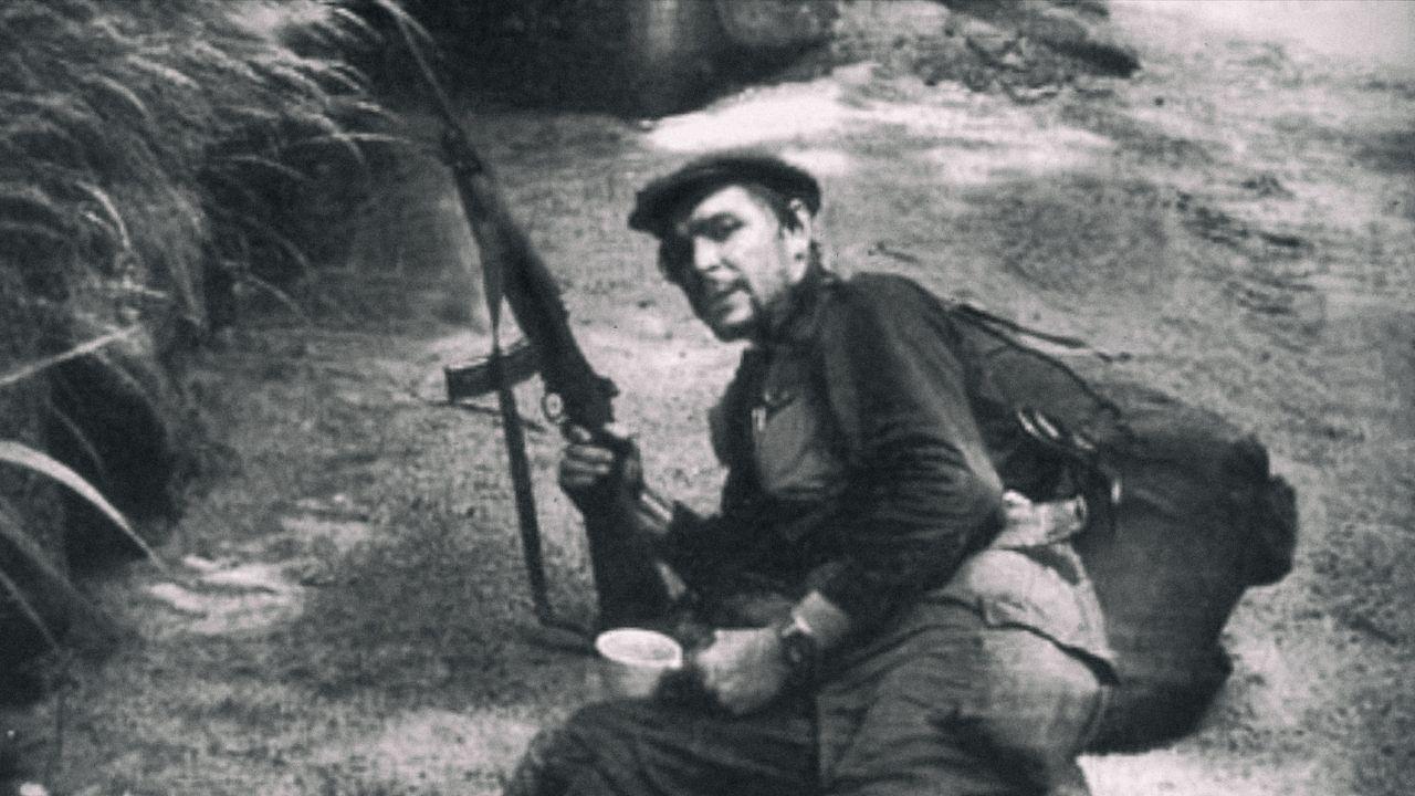 Che Guevara inkognito. Autoportrét, nedatováno.