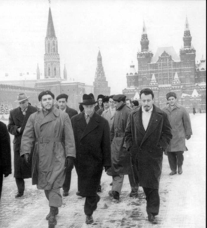 Následně vedl také ministerstvo průmyslu. Prosazoval centralizaci. Na snímku z roku 1965 na návštěvě Ruska.