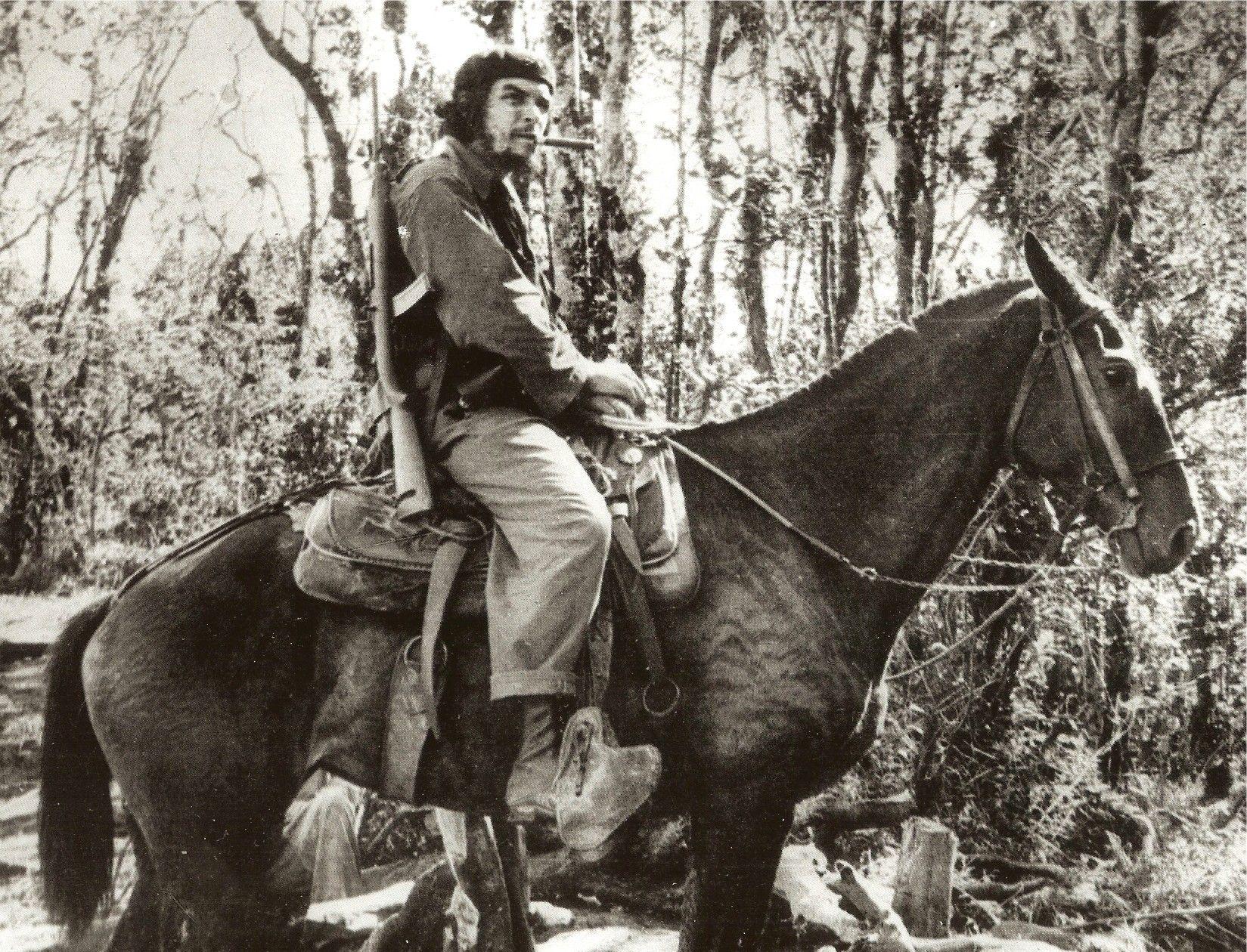 Pak přišel pokus rozpoutat komunistickou revoluci v jihoamerické Bolívii. Slavný revolucionář se snažil vypadat nenápadně, cestoval pod falešnou identitou a před cestou se prý oholil, ostříhal a nabarvil si vlasy našedo.