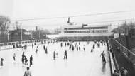 Výstavba započala v roce 1930. Ještě v jeho rozestavěných prostorách se 17. ledna 1931 odehrálo první utkání v ledním hokeji na umělém ledě v tehdejší Československé republice. V listopadu 1932 pak byl za zvuků Smetanovy Libuše oficiálně otevřen.