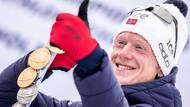 Mezi muži kraloval Nor Johannes Bö se ziskem dvou zlatých a tří stříbrných.