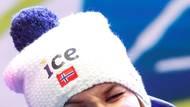Její hlavní rivalkou byla Norka Marte Olsbuová Röiselandová.