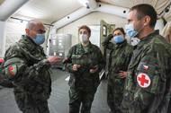 Armádní medici tu budou sloužit nejen z Prahy, ale i z regionů. Ti zde budou mít možnost přespat.