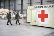 Je tu ale i možnost výpomoci od lékařů z Nemocnice na Bulovce, pod kterou tato polní nemocnice bude organizačně spadat.