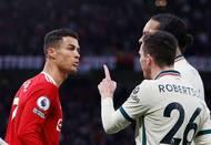 Cristiano Ronaldo a Andy Robertson.