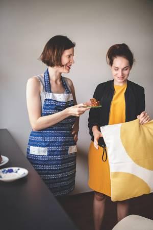 Hana Hajasová je s výsledkem a spoluprácí s designérkou Romanou Vyhnánkovou nadmíru spokojená.