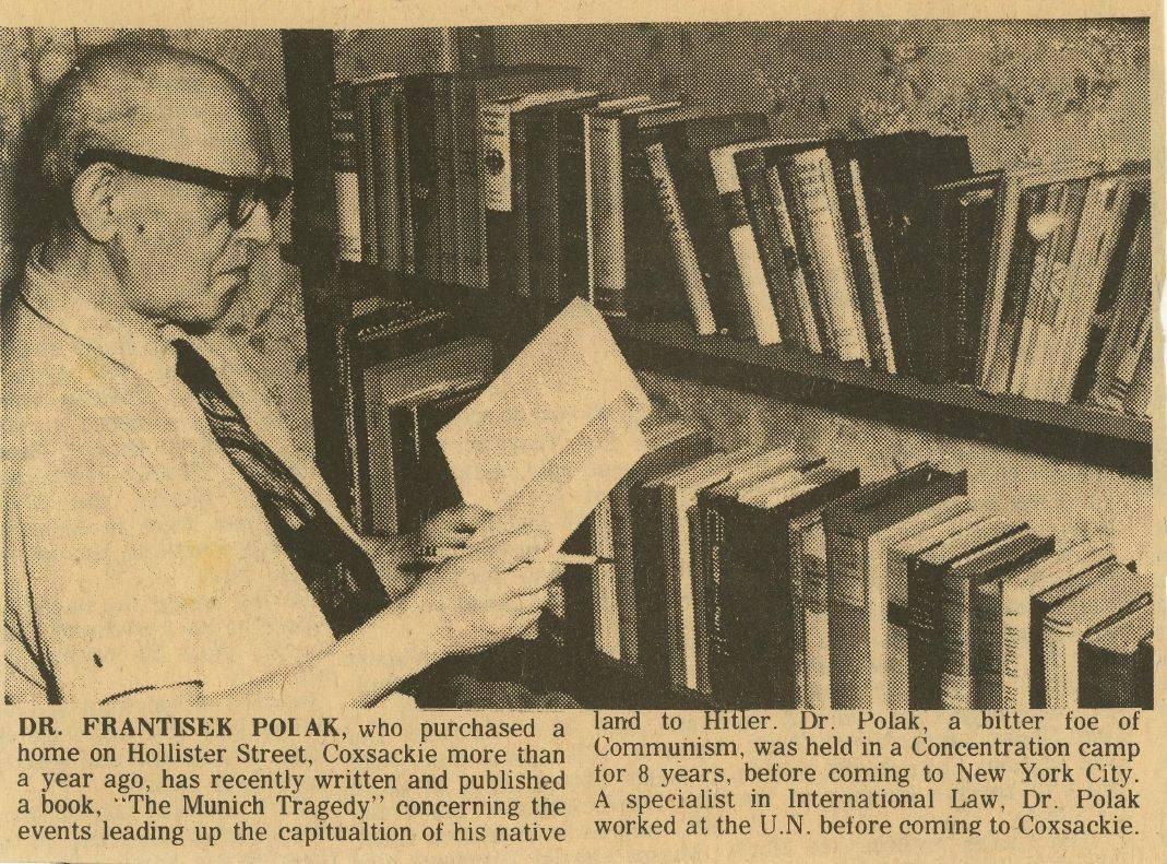 O osudech Františka Poláka a jeho úsilí zamezit využívání otrocké práce v Sovětském svazu několikrát referovaly různé americké noviny. V roce 1966 vyšel článek o jeho snahách i v lokálních novinách Greene County News.