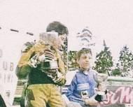 Malý Marco začal závodit už v sedmi letech na minibiku.