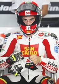 V kvalifikaci si Ital vyjel místo ve druhé startovní řadě.