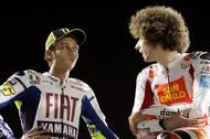 Rossi nesl celou situaci, kdy byl u smrti u smrti svého kamaráda, velmi těžce. Vedle rodiny doprovázel Simoncelliho tělo v letadle na cestě do Itálie.