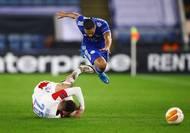 Slavia navázala na postup z úvodního kola jarní části Evropské ligy z před dvou let, kdy po domácí remíze 0:0 vyhrála 4:1 v Genku a nakonec dokráčela až do čtvrtfinále, kde vypadls s Chelsea.