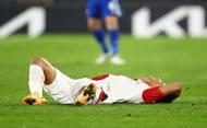 Alexander Bah v odvetě 2. kola Evropské ligy Leicester - Slavia