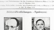 Zpráva o zabití Morávka v něměcky psaném tisku