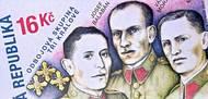 Tři králové na české poštovní známce ze září 2017.