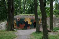 Zdejší malá betonová pevnost je jednou z mála, která se na takzvané Pražské čáře dochovala.