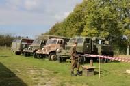 Ve Vojenském skanzenu Smečno mají několik modelů Pragy V3S.