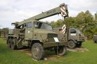 Autojeřáb na podvozku Pragy V3S