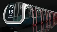 Tento design metra vytvořila Adéla Bláhová. Studentka podle Sieberta přichází s tvarově moderní soupravou metra.