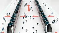 """Pro optimální využití konceptu je podle autorky vhodné zkombinovat ho se zvláštním typem stanice. Jedná se o tzv. """"Spanish solution"""" (""""Španělské řešení""""). Tento systém využívá obou stran dvěří metra najednou. Stanice je tvořená ze tří platforem, přičemž dvě krajní slouží k nástupům, prostřední platforma pak k výstupu z obou směrů. Studentka tento druh zastávky označuje za osvědčený způsob, který se často používá u stanic, jenž jsou velmi vytížené."""