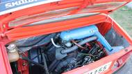 Motor byl pro škodovky 60., 70. a 80. let typicky uložen vzadu.