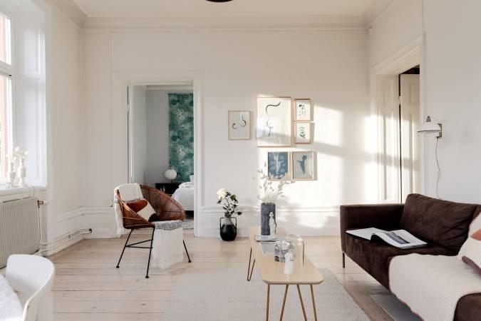Švédský prosluněný byt