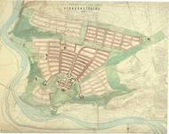 Hildebrandt: Severní město, rok 1943. Dnes v místech stojí sídliště Bohnice.