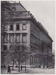 Petschkův palác jako sídlo gestapa.