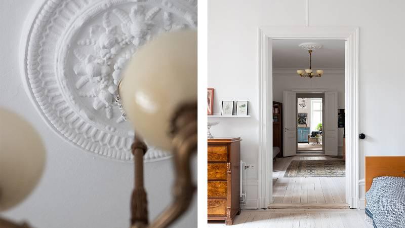 Galerie: Čtyřpokojový byt ve Stockholmu