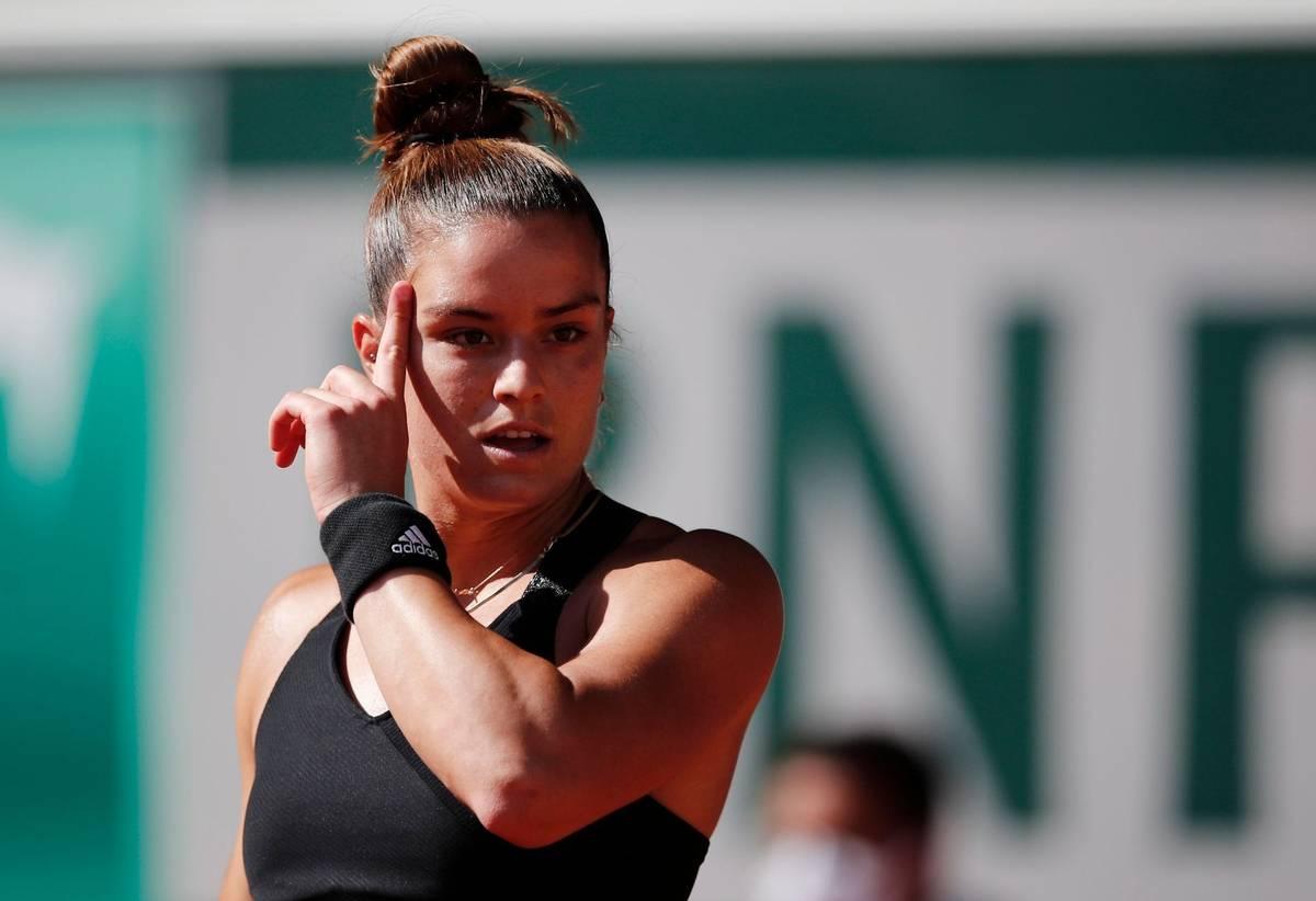Soupeřkou české tenistky v životním semifinále byla Řekyně Maria Sakkariová. Momentálně 18. hráčka světa.