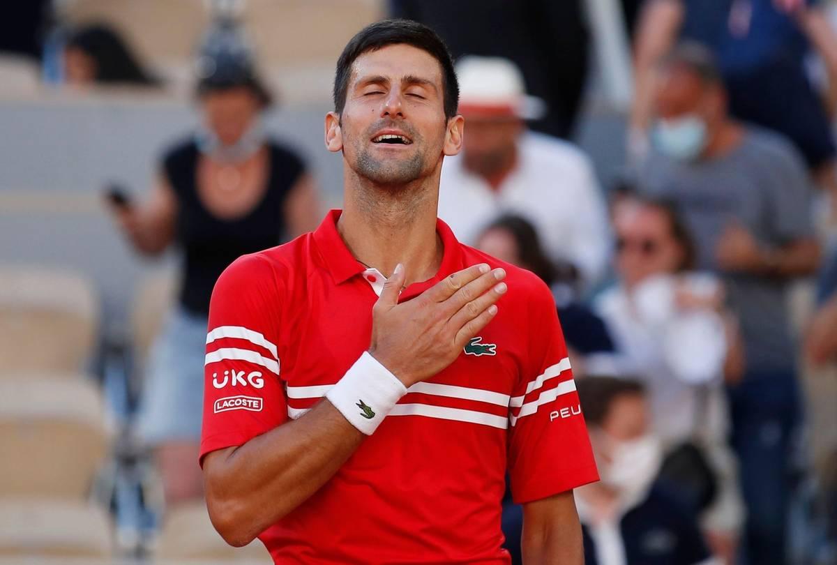 French Open 2021, finále Novak Djokovič