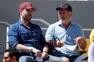 Na dvorec Philippa Chatriera se na očekávané finále přišla podívat i hollywoodská hvězda, herec a režisér Mel Gibson.